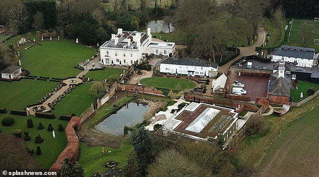 Sir Rod Steward and wife Penny Lancaster have taken on some pet goats?